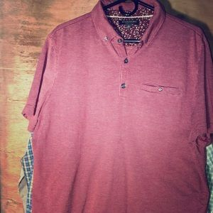 Banana Republic Luxury Touch XL polo shirt men's